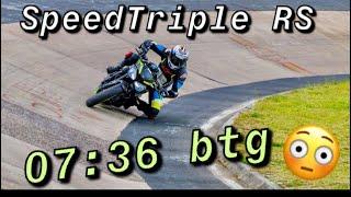 Nordschleife 7:36 BTG Fast Motorcycle lap Speed Triple RS