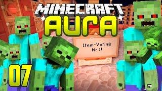 Minecraft AURA #7 - AUFLÖSUNG des ITEM VOTINGS l Minecraft AURA GommeHD