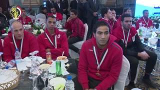 بالفيديو.. صدقي صبحي يكرم أبطال القوات المسلحة الحاصلين على ميداليات أوليمبية