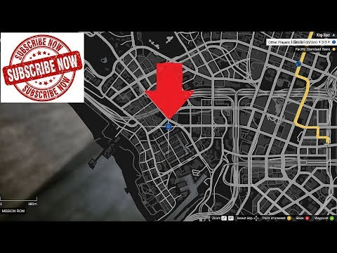 where is the pacific standard bank in gta 5
