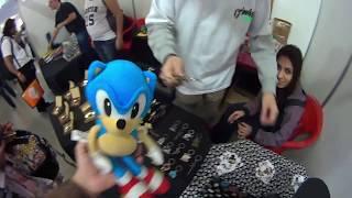 Dreams World 2017 Passeando com o Sonic e explorando lojas
