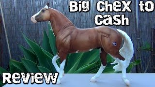 Requested Breyer Model Horse Review ~ Big Chex to Cash
