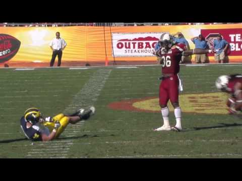 DJ Swearinger Senior Year Highlights (South Carolina Gamecocks)