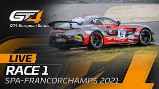 RACE 1 - GT4 European Series - SPA FRANCORCHAMPS 2021 - ENGLISH