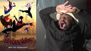 Spider-Man: Into the Spider-Verse Reaction First Time Watching!!