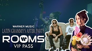 ROOMS VIP PASS: Latin GRAMMYs Warner Music After Party
