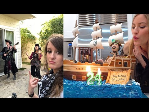 JUSTINE'S PIRATE PARTY!!