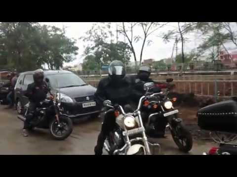 Tiger Harley Davidson Indore- Sunday Rides 1/3/15