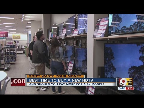 Best time to buy a new HDTV