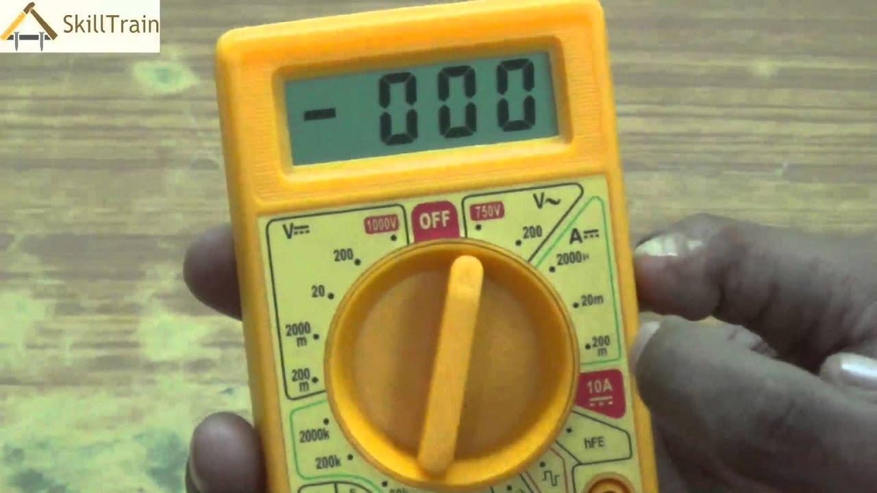 uses of multimeter in mobile repairing hindi  [ 1280 x 720 Pixel ]