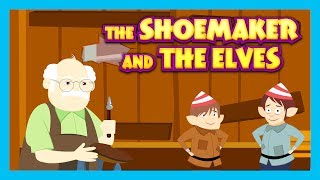 THE SHOEMAKER AND THE ELVES - BEDTIME STORY FOR KIDS || KIDS HUT STORIES