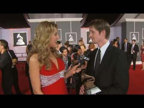 The 51st Grammy Awards - Alex Martin Red Carpet Interview