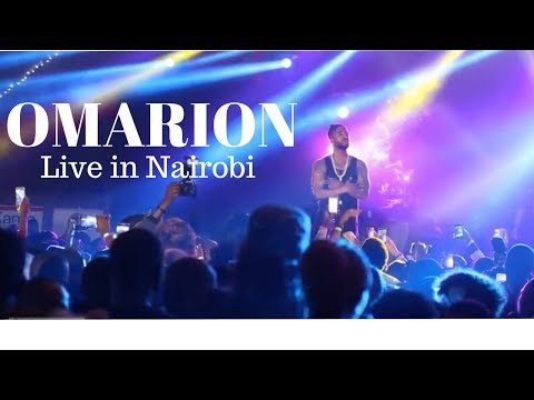 Omarion Performing Live in Nairobi