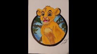 Drawing | Simba König der Löwen