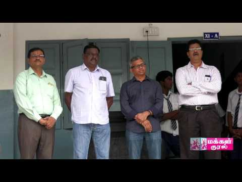 Santhome High School Old Students donates fund for education