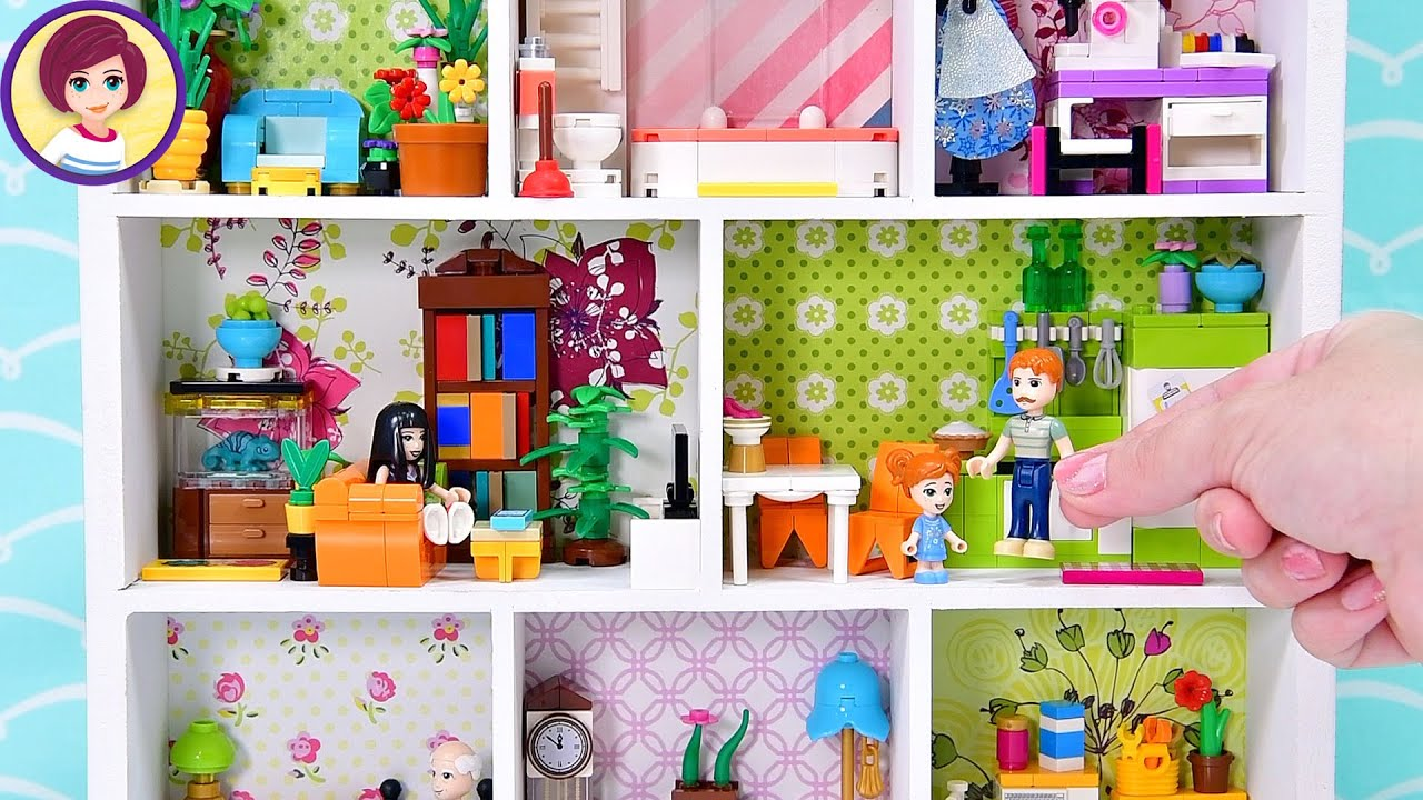 Making more dollhouse furniture (but only out of Lego) - DIY craft custom build finished!