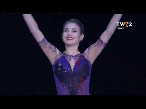 Ladies Victory Ceremony - 2020 Figure Skating European Championships, Graz