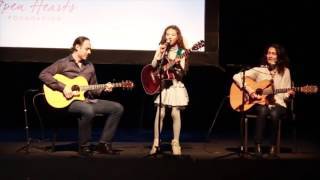 9 yr old Zia Victoria - Live at Bergen PAC and Classical Guitar Audition