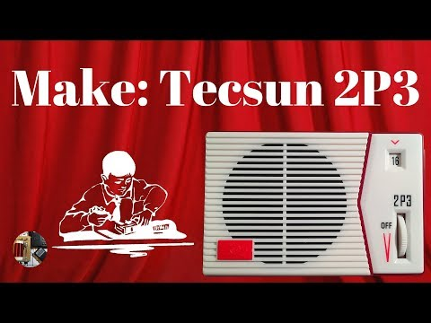 Make: Tecsun 2P3 DIY AM Radio Kit Build and Review