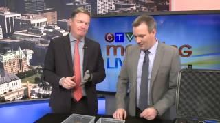 Bob Plaschke on CTV Testing Sonim Phones - Ottawa