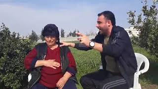 سليمان نصرة   موال   ودلعونه مع جدته    2018 soleiman nasra