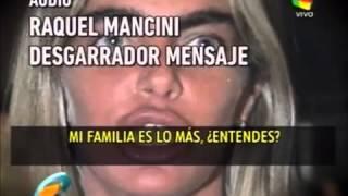 Raquel Mancini, vs la familia de Fabian rodriguez