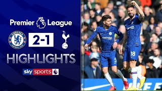 Giroud & Alonso sink Spurs before more VAR controversy  | Chelsea 2-1 Tottenham | EPL Highlights