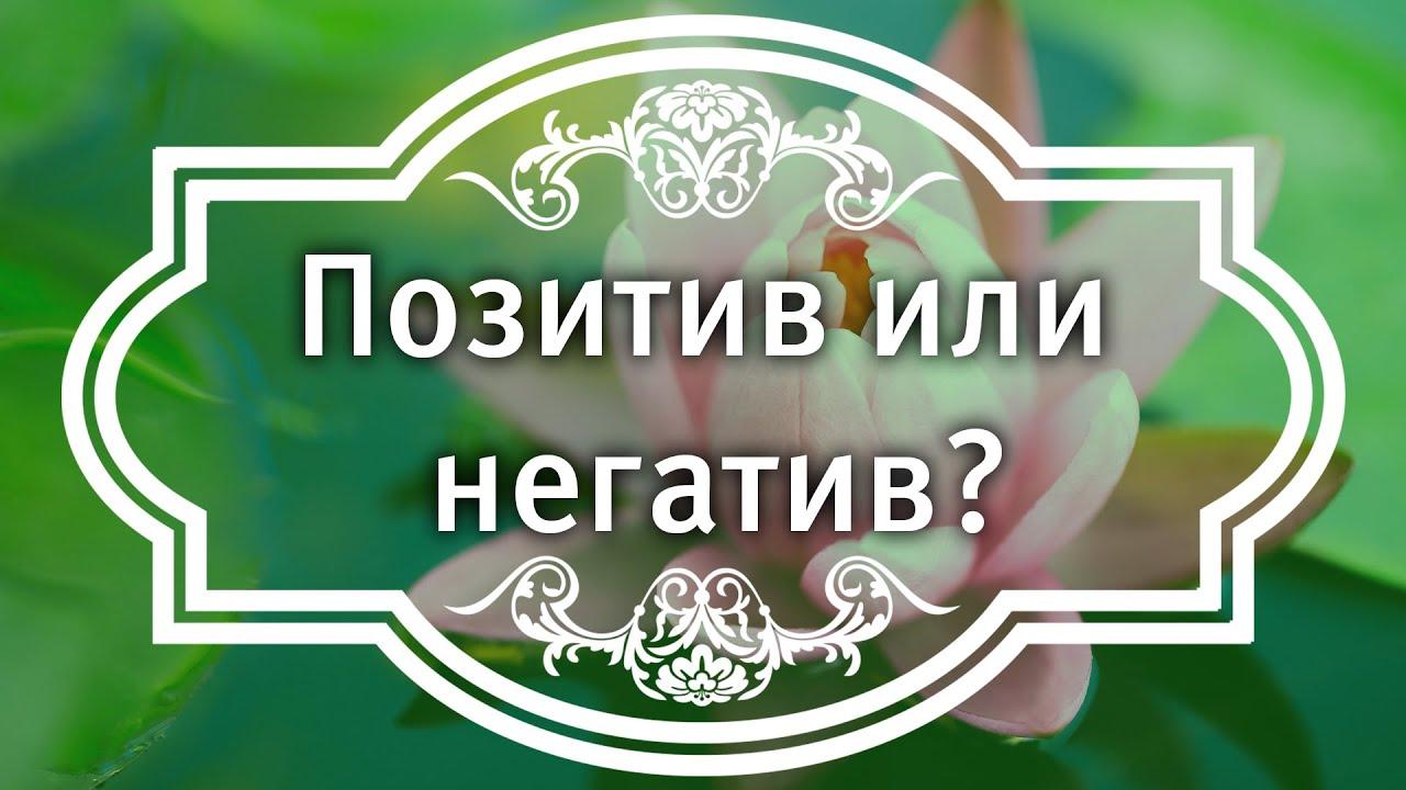 Екатерина Андреева - Позитив или негатив?