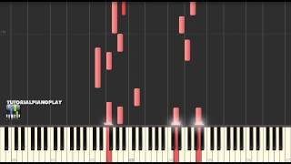 Mozart - Piano Sonata No. 1 in C major, K 279 Mov. II Andante - Piano Tutorial (100% Speed)