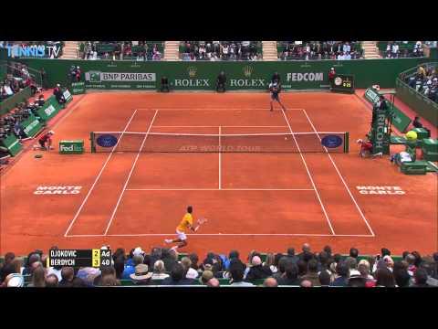 2015 Monte-Carlo Rolex Masters Final Highlights - Novak Djokovic v Tomas Berdych