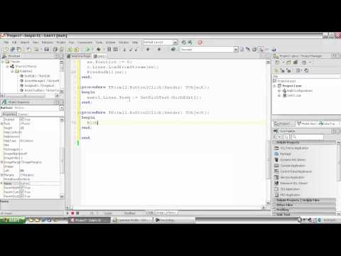 Delphi Tutorial #111 - Using TGridPanel to control proportional