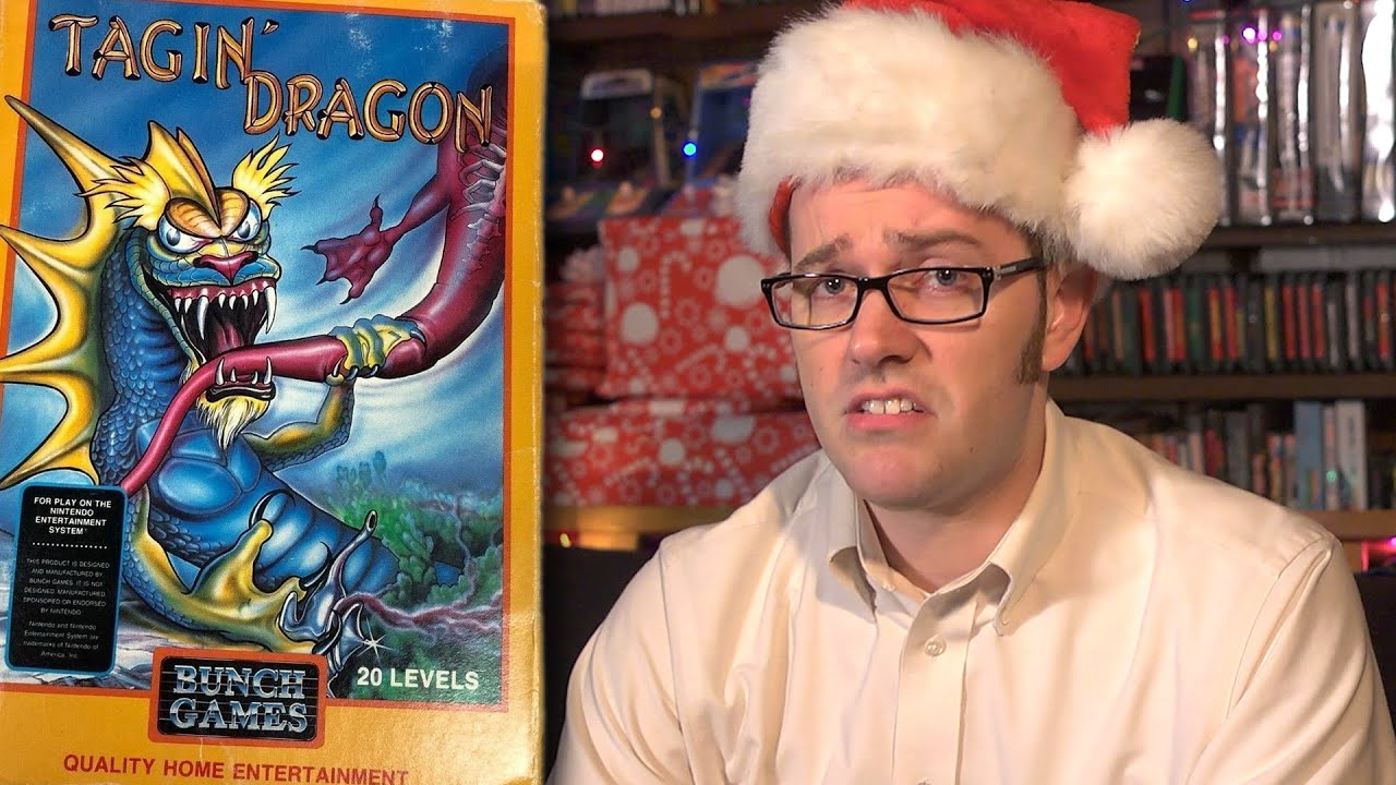 Tagin' Dragon (NES) Angry Video Game Nerd - Episode 122 - YouTube