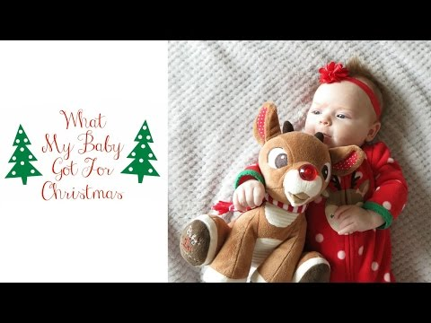 What My Baby Got for Christmas | 2 Months Old