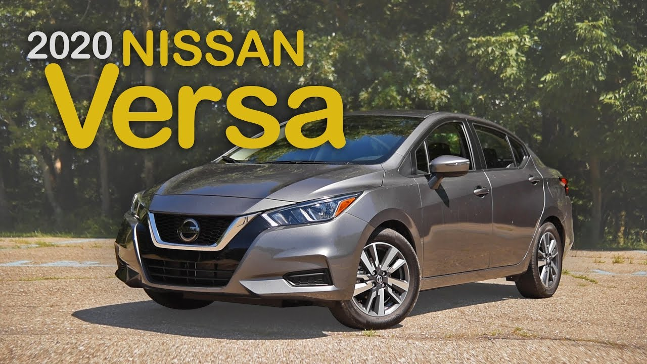 2020 Nissan Versa Review Curbed With Craig Cole Youtube