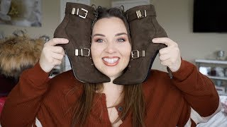 Boots & Booties Try-on Haul!