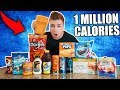 MOST UNHEALTHY DRINK IN THE WORLD CHALLENGE!!! (1 Million Calories)