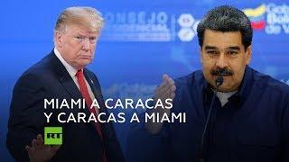 Maduro responde a Trump después de que le llamara