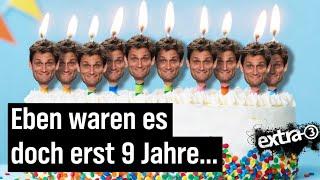 Christian Ehring feiert 10-jähriges Jubiläum bei extra 3