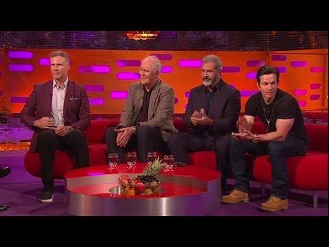 Graham Norton Show S22E08 HD   Mel Gibson, Will Ferrell, Mark Wahlberg, John Lithgow, Shirley Ballas