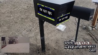 Locking Mailbox Assembly For Stephens Post Us Postal Approved Mail Box Install Mounting Video