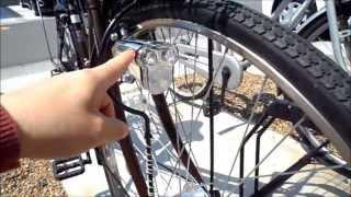 Repeat youtube video 最近の自転車って、こうなってるんだねぇ〜すごいなぁ〜 - ハブダイナモ&パンクレスタイヤ -