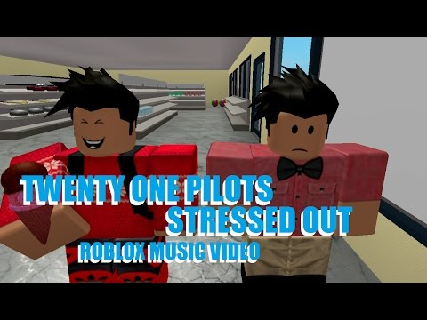twenty one pilots Stressed out [ Roblox Music...