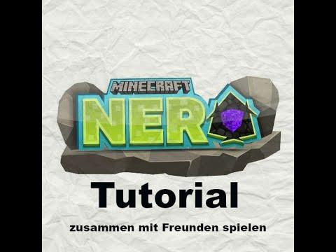 Tutorial Minecraft Nero Mit Freunden Spielen Auf Server YouTube - Minecraft server erstellen und mit freunden spielen
