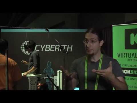 SIGGRAPH 2014 - Cyberith Virtualizer, Emerging Technologies Contributor