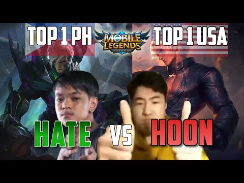 EXE HATE VS GOSU HOON | WHO IS THE BEST GUSION MOBILE LEGENDS BANG BANG