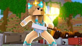 Minecraft: ENTRE AMIGOS #32 - ASSASSINA DE DINOSSAUROS!