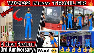 🔥WCC2 New TRAILER | Edit Unofficial Trailer | 3rd Anniversary |Technical Editing Gamer |