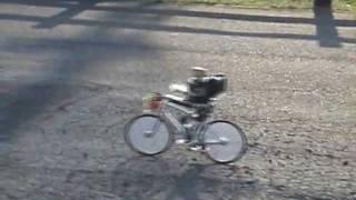 自転車に乗る二足歩行ロボット・お使い編 thumbnail