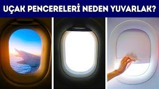 Uçak Pencereleri Neden Yuvarlak