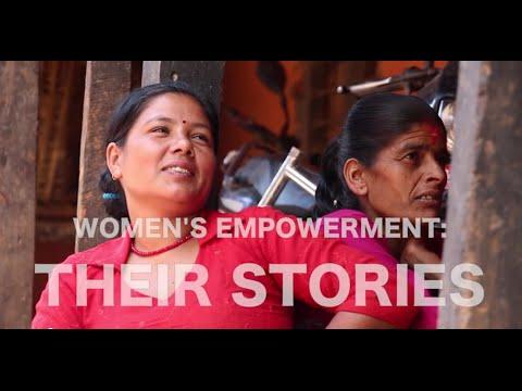 Women Empowerment - Women's Stories in Nepal